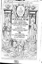 Annalium Continuatio: ab anno MCXCVII quo is desiit, ad finem MDCXLVI. 2