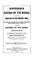 rOTTECK S HISTORY OF THE WORLD  FROM THE CREATION TO THE PRESENT TIME PDF