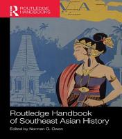 Routledge Handbook of Southeast Asian History PDF