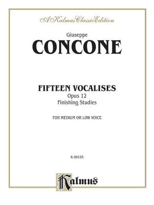 Fifteen Vocalises, Op. 12 (Finishing Studies)