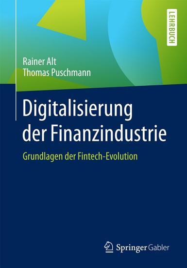 Digitalisierung der Finanzindustrie PDF