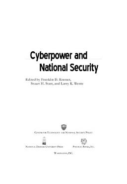 Cyberpower and National Security PDF
