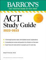 BARRONS ACT STUDY GUIDE  PDF