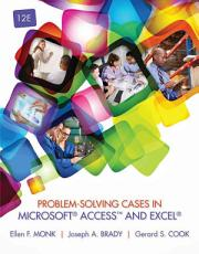 Problem Solving Cases in Microsoft AccessTM and Excel PDF