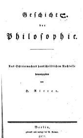 Friedrich Schleiermacher's sämmtliche Werke: Teil 3,Band 4