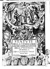 Statuti della venerabile archiconfraternita della S.ma Nuntiata