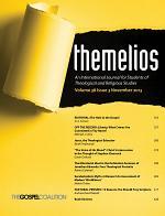 Themelios, Volume 38, Issue 3