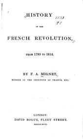History of the French Revolution, from 1789 to 1814