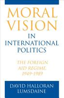 Moral Vision in International Politics PDF