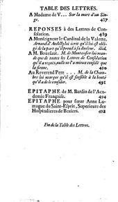 Les plus belles lettres françoises sur toutes sortes de sujets: Volume2