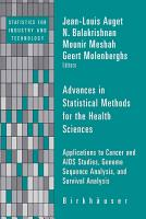 Advances in Statistical Methods for the Health Sciences PDF
