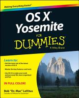OS X Yosemite For Dummies PDF