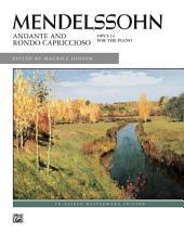 Andante and Rondo Capriccioso, Op. 14: Piano Sheet Music - Alfred Masterwork Edition
