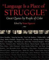 Language is a Place of Struggle  PDF