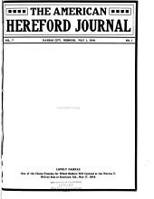 American Hereford Journal: Volume 7, Issue 1