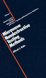 Microwave Nondestructive Testing Methods