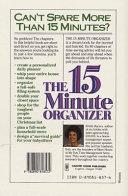 The Fifteen Minute Organizer