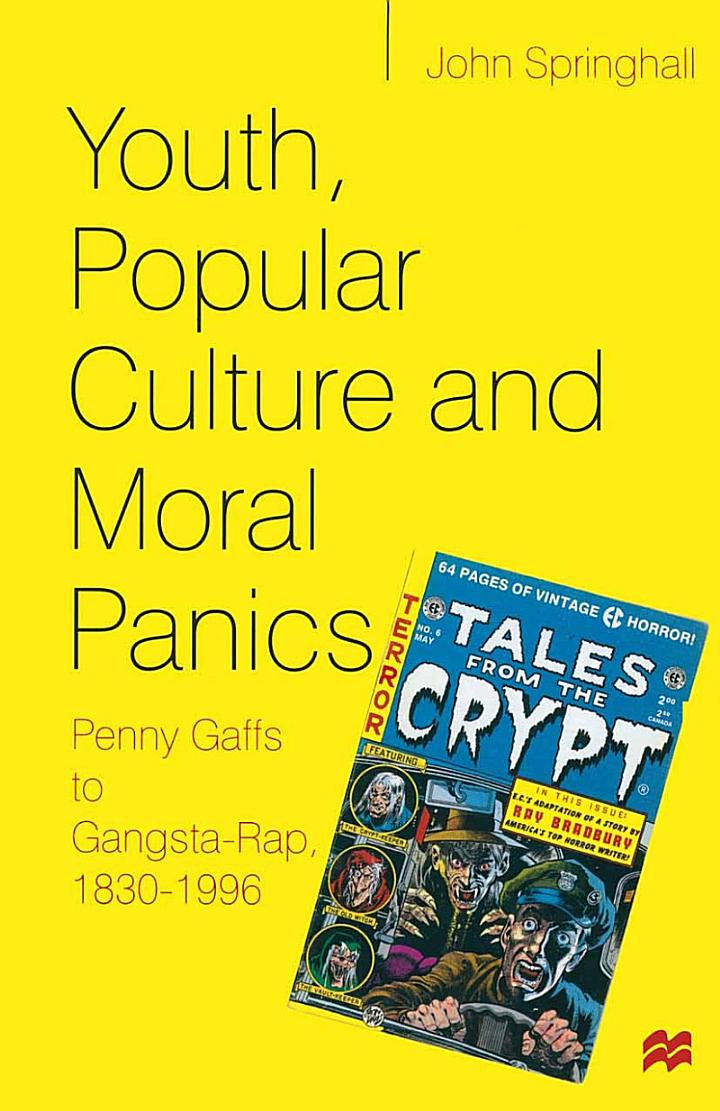 Youth, Popular Culture and Moral Panics