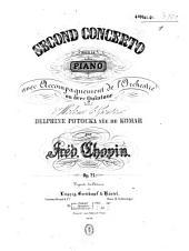 Second concerto pour le piano: avec accompagnem. t de l'orchestre ou avec quintuor ; oeuv. 21