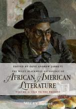 The Wiley Blackwell Anthology of African American Literature  Volume 2 PDF