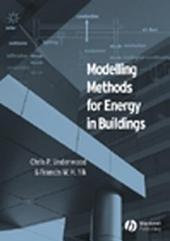 Modelling Methods for Energy in Buildings