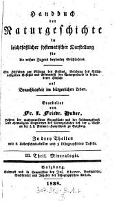 III. Theil. Mineralogie: Volume 3