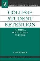 College Student Retention PDF