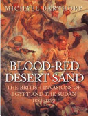 Blood-red Desert Sand
