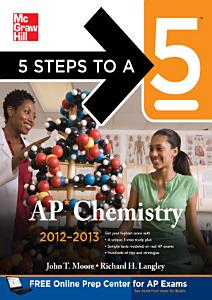 5 Steps to a 5 AP Chemistry  2012 2013 Edition Book
