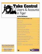 Take Control of Users & Accounts in Tiger