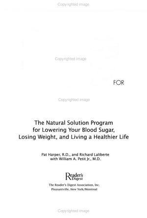 Change One for Diabetes PDF