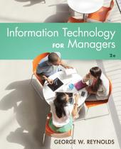 Information Technology for Managers: Edition 2