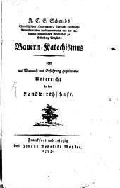 J. C. E. Schmid's Bauern-Katechismus
