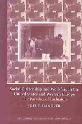 Social Citizenship And Workfare In The United States And Western Europe Book PDF