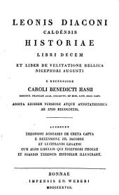 Leonis Diaconi Caloënsis Historiae libri decem: et liber de Velitatione Bellica Nicephori Augusti, Part 11