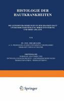 Histologie der Hautkrankheiten PDF