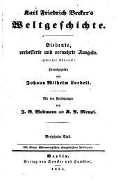 Karl Friedrich Becker's Weltgeschichte: Band 13