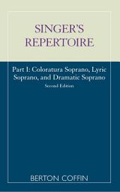 The Singer's Repertoire: Part 1, Edition 2