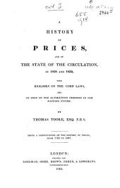 A History of Prices and of the State of Circulation: Volume 3