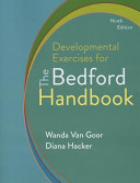 Developmental Exercises for The Bedford Handbook