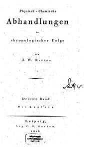 Physisch-chemische Abhandlungen in chronologischer Folge: 3