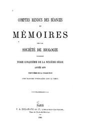 Comptes rendus des séances de la Société de biologie et de ses filiales: Volume30