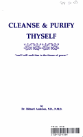 Cleanse   Purify Thyself PDF