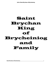 The Life of Saint Brychan: King of Brycheiniog and Family