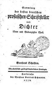 J.W. Göthens Schriften
