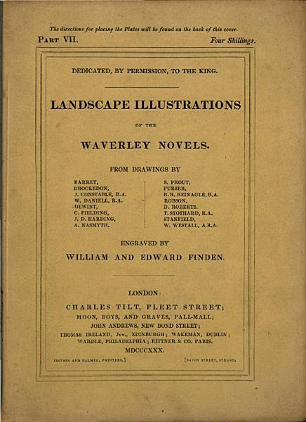 Landscape Illustrations of the Waverley Novels