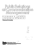 Public Relations as Communication Management PDF