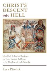 Christ S Descent Into Hell Book PDF