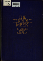 The Terrible meek: a one-act stage play for three voices: to be played in darkness