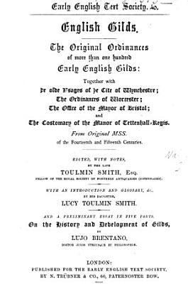 English Gilds PDF